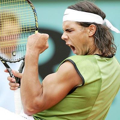 rafael nadal foto. Rafael Nadal (above).