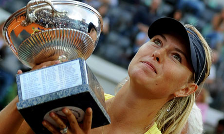 Maria Sharapova: 2011 Rome Champion!
